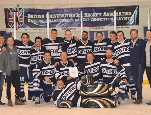 Men's Blues ice hockey – National Champions 2016