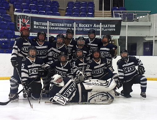 Blood, Sweat and Tears: Oxford University Ice Hockey Club give top effort at the BUIHA's Annual National Championships
