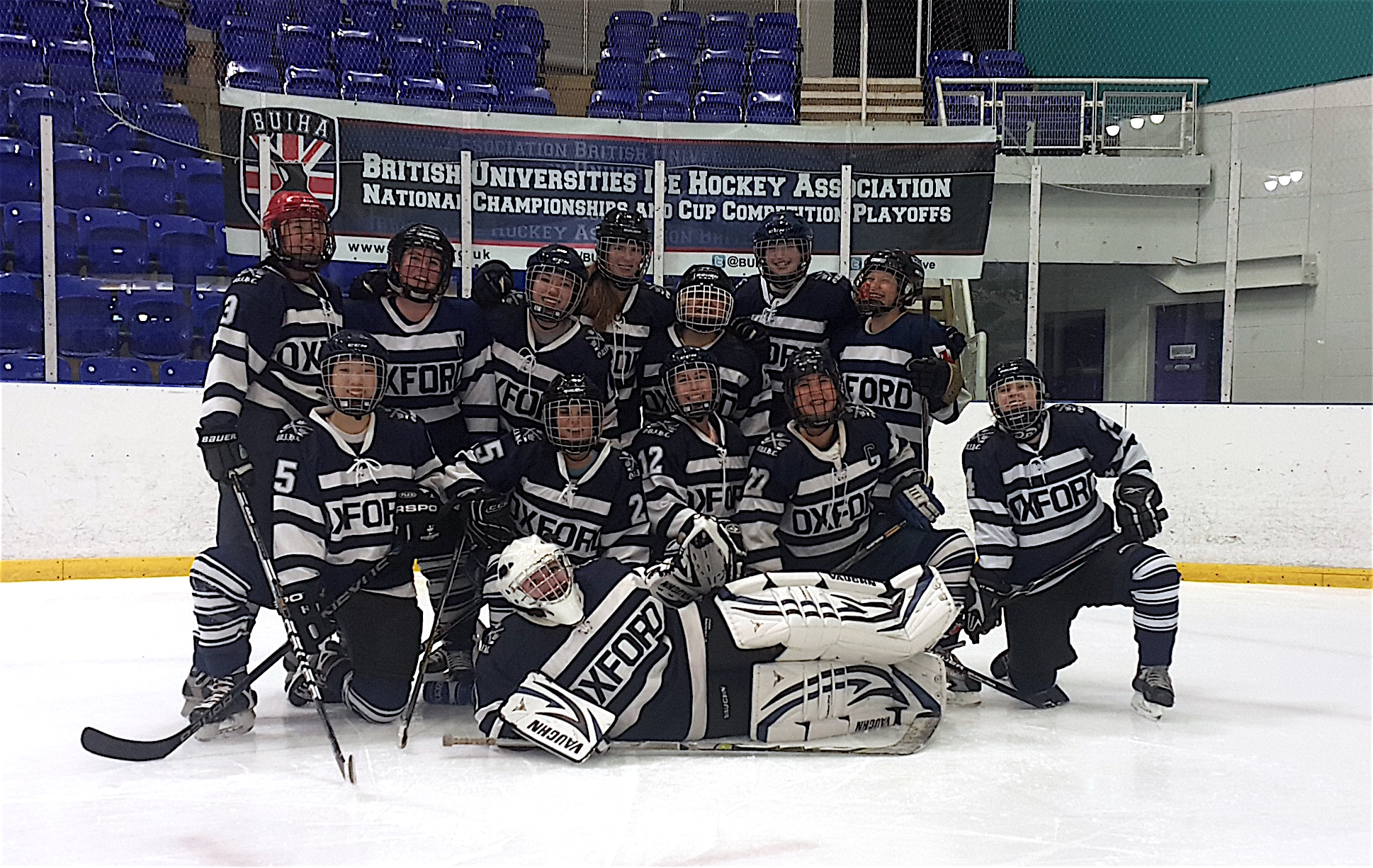 OUIHC Women's  Blues at the 2016 Division 3 National Championships